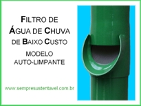CLIQUE AQUI PARA VER O MANUAL DE CONSTRUÇÃO E INSTALAÇÃO DO FILTRO DE ÁGUA DE CHUVA DE BAIXO CUSTO - MODELO AUTO-LIMPANTE