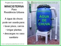 CLIQUE AQUI PARA VER O MANUAL DE CONSTRUÇÃO E INSTALAÇÃO DA MINICISTERNA