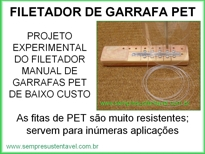 FILETADOR DE GARRAFAS PETs